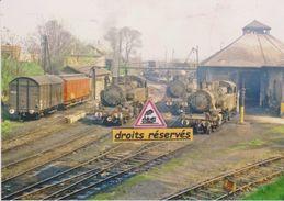 Locos Mikado 141 TB, Au Dépôt De Nogent-Vincennes (94) - - Nogent Sur Marne