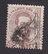 Puerto Rico, Scott #3, Used, Cuba Stamp Overprinted, Issued 1873 - Puerto Rico