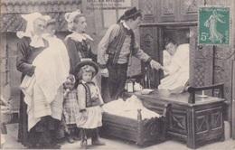 FOLKLORE - BRETAGNE - Scène De Vie - Départ Pour Le Baptême - Villard 1642 - 1911 - Sonstige
