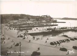 Z4239 Oslo - Havnen Og Akershus - Auto Cars Voitures - Barche Boats Bateaux / Non Viaggiata - Norvegia