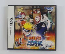 Nintendo DS Japanese : Naruto Shinobi Retsuden  NTR-AREJ(JPN) - Other