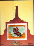 AT3581 South Yemen 1984 Olympic Games Equestrian M/S MNH - Sommer 1984: Los Angeles