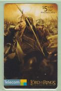 New Zealand - Chipcards - 2003 Lord Of The Rings - $5 Legolas - VFU - Neuseeland