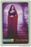 New Zealand - Chipcards - 2003 Lord Of The Rings - $20 Arwen - VFU - Neuseeland