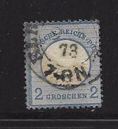 ALLEMAGNE-EMPIRE 1872  YVERT N°17 OBLITERE - Germania