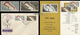 XIX Olympic Games  1968 Athletics Race Legs Indian Indien Inde Indes Olympics Mexico City - Summer 1968: Mexico City