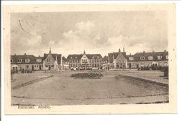 Almelo. Rietstraat Met Ambachtschool Met Scholieren - Almelo