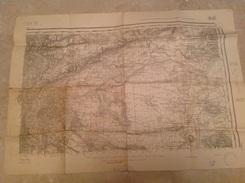 Plan De Lyon  Type 1889  Tirage De 1946  Dimension 53 X 76 Cm - Dépliants Touristiques