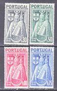 PORTUGAL  671-4  **  MADONNA & CHILD - 1910-... Republic