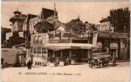 5IOM 523 CPA - CHATEL-GUYON - LA PLACE BROSSON - Châtel-Guyon