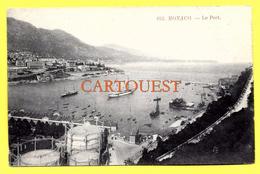 CPA MONACO Le Port Bateaux ( Anciens Quais ) - Harbor