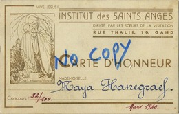 GENT : Institut Des Saints Anges - Gent