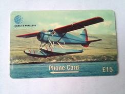 Falkland Islands 275CFKD De Havilland 15 Pounds - Avions
