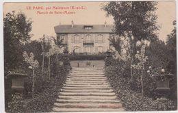 CARTE POSTALE  LE PARC Par MAINTENON 28 Manoir De Saint Mamer - Sonstige Gemeinden