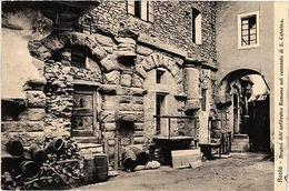 CPA AOSTA Avanzi Dell'anfiteatro Romano Nel Convento. ITALY (531946) - Italia