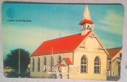 Falkland Islands 289CFKA St Mary's Catholic Church 10 Pounds - Falkland