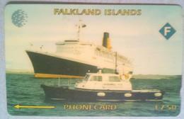 Falkland Islands 3CWFA Ship 7.50 Pounds - Falkland