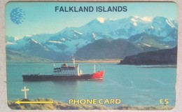 Falkland Islands 5CWFA Antartic Survey 5 Pounds - Falkland Islands