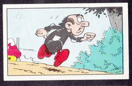 N°70 Un Schtroumpf Pas Comme Les Autres Smurf Puffi Schtroumpfs Ancienne Image Chromos Kwatta - Chromo's