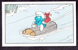 N°30 Un Schtroumpf Pas Comme Les Autres Smurf Puffi Schtroumpfs Ancienne Image Chromos Kwatta - Chromo's