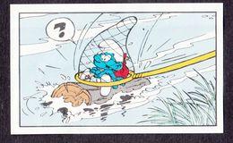 N°34 Un Schtroumpf Pas Comme Les Autres Smurf Puffi Schtroumpfs Ancienne Image Chromos Kwatta - Chromo's