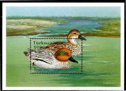 TURKMENISTAN 2002** - Anatre / Ducks - Block MNH Come Da Scansione. - Anatre