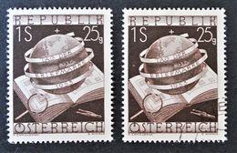 JOURNEE DU TIMBRE 1953 - NEUF ** + OBLITERE - YT 828 - MI 995 - 1945-.... 2nd Republic