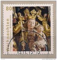 2015 Austria Mi. 3240 Used Maria Mit Kind; Mittelschrein Des Flügelaltars Der Pfarrkirche St. Remigius, Gampern - 1945-.... 2. Republik