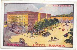 ROMA: HOTEL SAVOIA - Italia