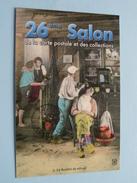 26 éme Salon De La Carte Postale Et Des Collections 2006 Alençon Et à Sées 2007 ( Zie Foto´s Voor Detail ) ! - Bourses & Salons De Collections