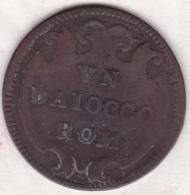 Benoît XIV / Benedetto XIV. UN Baiocco Rom ND (1740-1758) An. IX - Vatican