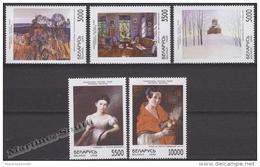 Belarus - Bielorussie 1998 Yvert 279-83, Art, Paintings - MNH - Bielorrusia