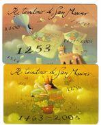 SAN MARINO Il Territorio 2003 5+6 €  Nuove Cod.schede.091 - San Marino