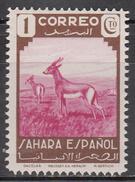 SPANISH SAHARA     SCOTT NO. 51    MINT HINGED       YEAR  1943 - Spanish Sahara