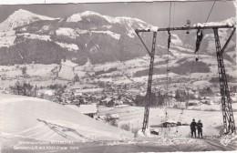 Wintersportplatz Kitzbühel, Ganslern-Lift Mit Kitzbüheler Horn (9080) * 24. 2. 1958 - Kitzbühel
