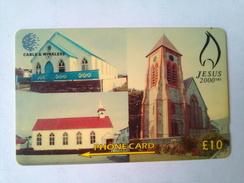 Falkland Islands 314CFKAB 2000 Years Birth Of Christ 10 Pounds - Falkland Islands