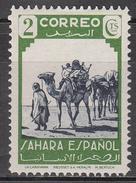 SPANISH SAHARA     SCOTT NO. 52    MINT HINGED       YEAR  1943 - Spanish Sahara