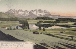 Schwarzsee Bei Kitzbühel Mit Dem Wilden Kaiser (232) * 1905 - Kitzbühel