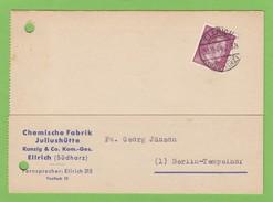 CHEMISCHE FABRIK JULIUSHÜTTE, ELLRICH. - Allemagne