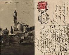 CPA NERVI Via La Chiesa . ITALY (531390) - Italy