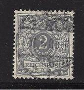 ALLEMAGNE-EMPIRE 1889/90  YVERT N°44 OBLITERE - Usati