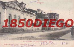 ONEGLIA - VIA GENOVA - CIRCOLO IMPIEGATI CIVILI   F/PICCOLO  VIAGGIATA 1906 - Imperia