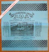 "Emballage / Verpakking ""Chicorée / Chicorei Spillemaeckers Frères, Ingelmunster - Vieux Papiers"