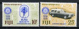 1976 - FIJI - Catg. Mi.  352/353 - NH - (R-SI.331.713 -  37) - Fiji (1970-...)