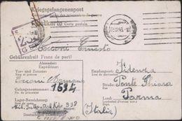 World War II Zweite Wältchrieg Camp Représailles Stalag 398 Kaisersteinbruch Près Vienne Autriche Formulaire Geisendorf - Briefe U. Dokumente