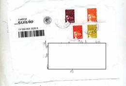 Lettre Suivie Illfurth Sur Luquet - Manual Postmarks