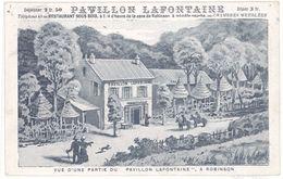 Cpa Robinson - Vue D'une Partie Du Pavillon Lafontaine - France
