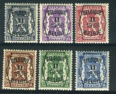 BELGIQUE ( PREOBLITERE ) : Y&T N°  ???  TIMBRES  NEUFS  SANS  TRACE  DE  CHARNIERE , A  VOIR . - Typo Precancels 1936-51 (Small Seal Of The State)