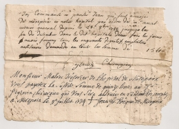 1734 ACCORD DE PAIEMENT DE EVEQUE DE MIREPOIX JEAN FRANCOIS BOYER (AUTOGRAPHE) POUR CHIRURGIEN PEYTAVIN FANJEAUX - Documents Historiques
