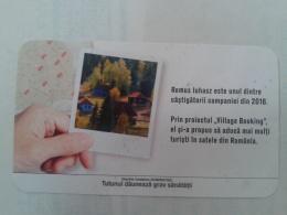 ROMANIA-CIGARETTES CARD,NOT GOOD SHAPE,0.80 X 0.45 CM - Tabac (objets Liés)